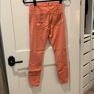Coral MOTHER jeans